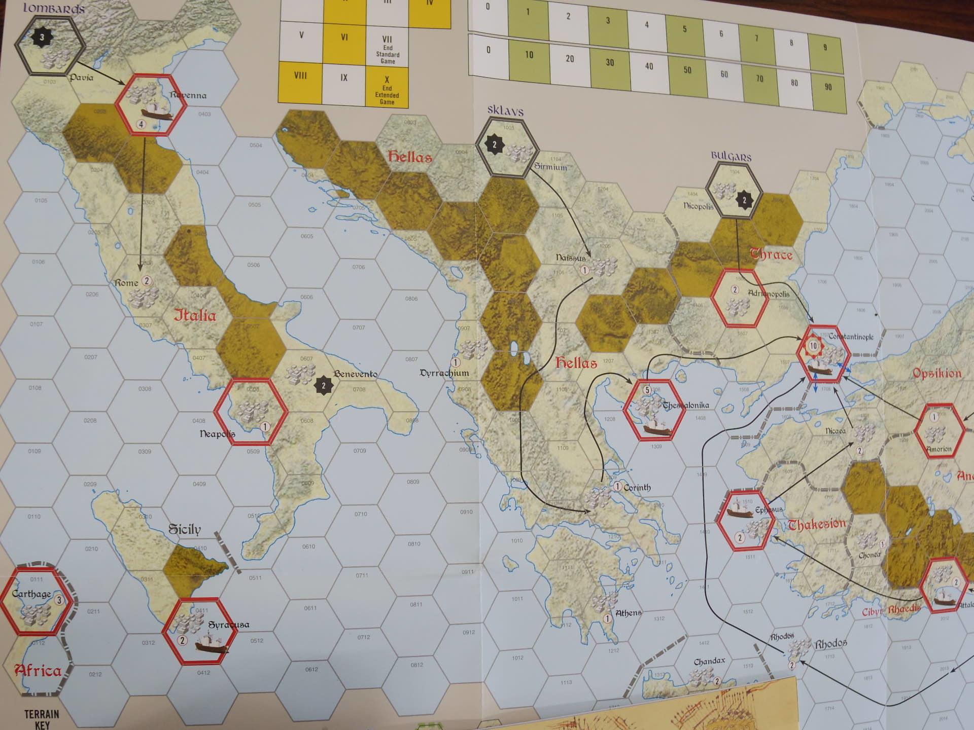 【新作ゲーム拝見】(S&T誌318号)Constantinople:コンスタンチノープル_b0173672_21030325.jpg