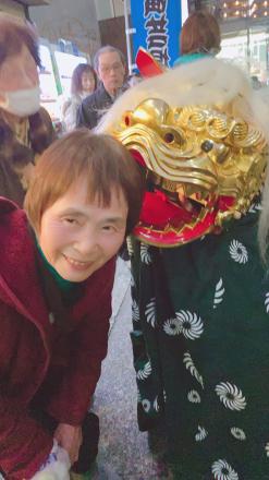 「今年もよろしくお願いします!」サチ子_c0128487_22221165.jpg