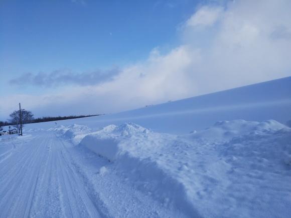 雪景色と、雪のような酵母作り_f0316507_14070392.jpg