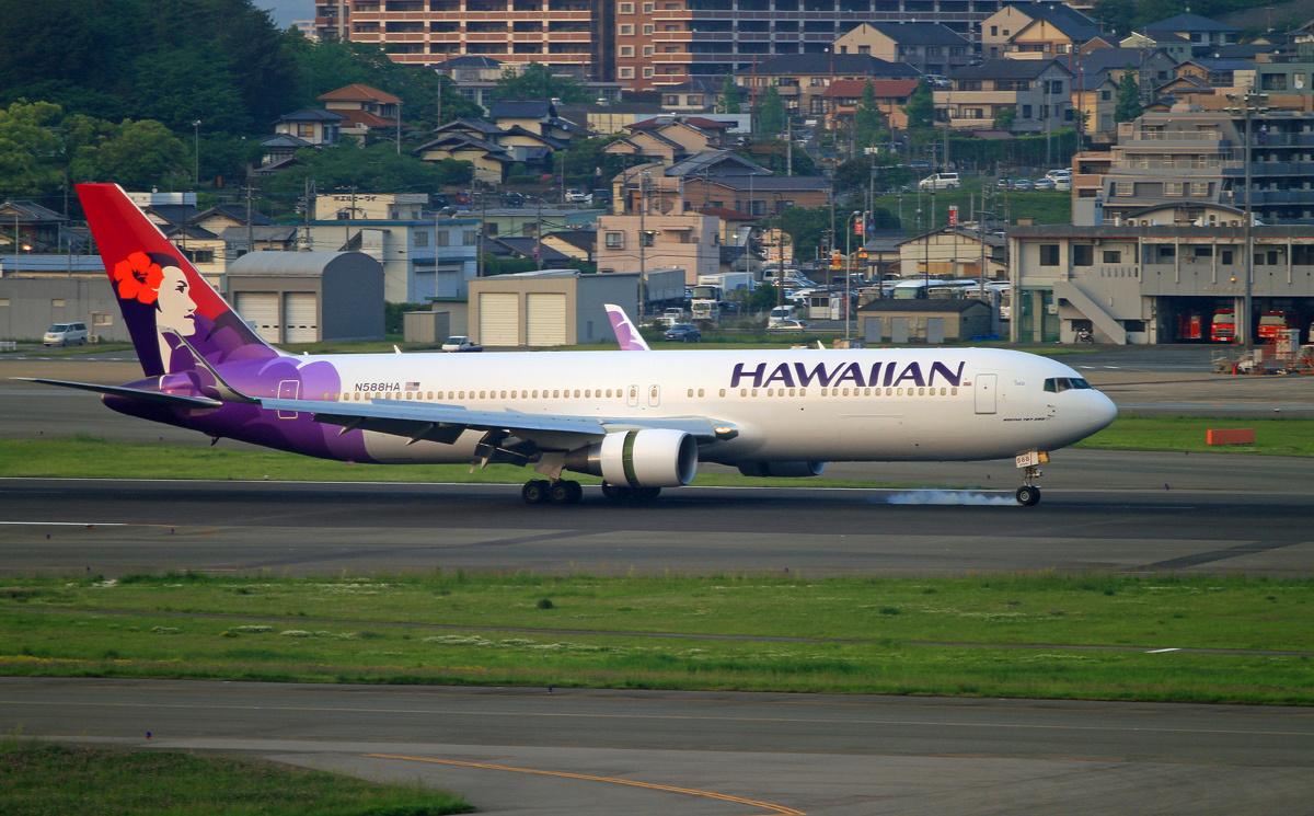ハワイアン航空。_b0044115_09291798.jpg