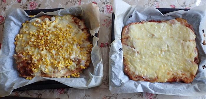 白神こだま酵母のピッツア2種など_c0116915_00390863.jpg