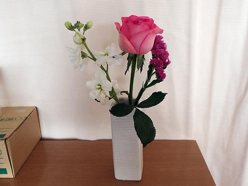 お花もらっちゃった(嬉)_c0193735_12322780.jpg