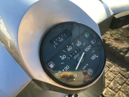 タフな1台、Vespa PX200BME シルバー 入荷!_f0123137_11245885.jpg