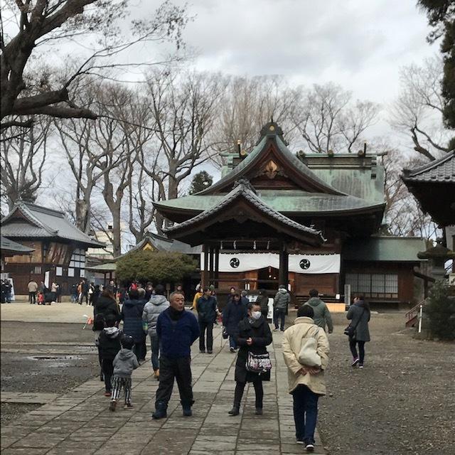 八幡神社初詣_e0226943_23144661.jpg