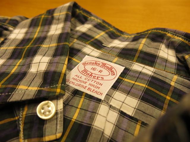 "\""BROOKS BROTHERS BD SHIRTS DRESS GORDON BROAD #IVYFAI\""ってこんなこと。_c0140560_12191247.jpg"