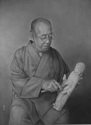 肖像画描いて33年「肖像画の益子」_b0174462_10205569.jpg
