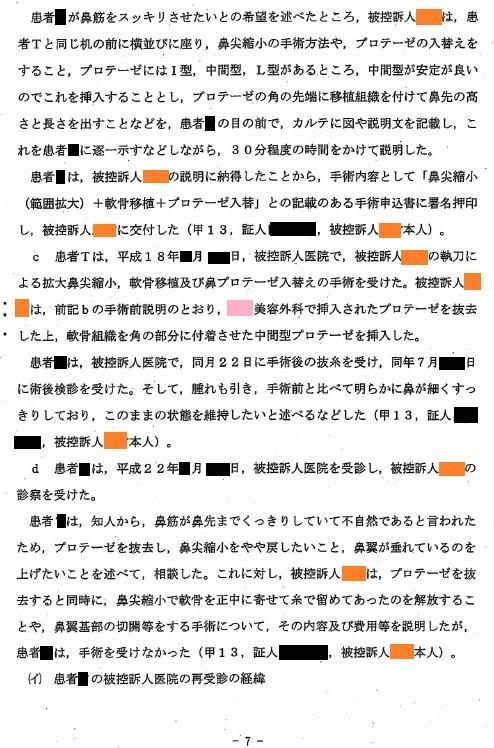 B医師裁判 東京高等裁判所判決_d0092965_23311065.jpg
