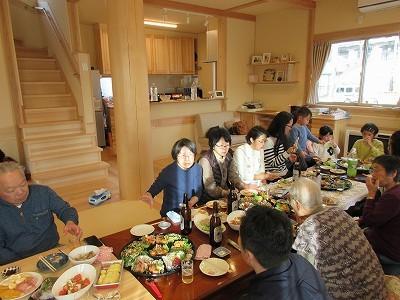 教育長歓送迎会  びしゃもん市忘年会  新築祝い  食い初め _b0092684_11562974.jpg