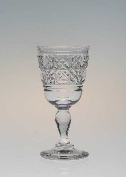 Baccarat Diamond Cut Decanter&Glass_c0108595_23412236.jpeg