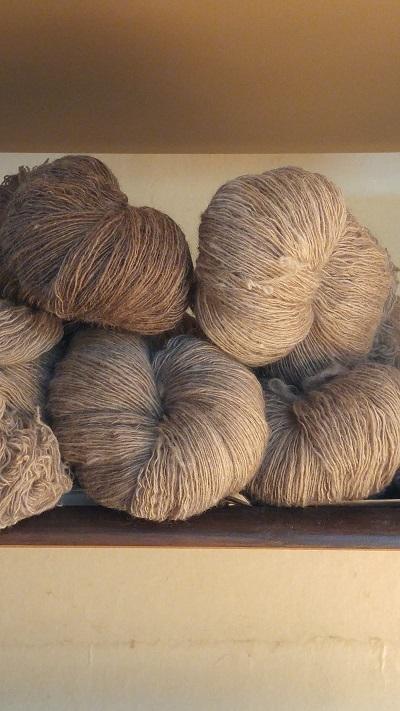 染めて紡いで織る日々始まりました_e0221697_15560032.jpg