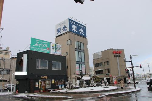 米沢駅の朝 2020.1.5_c0075701_08565164.jpg