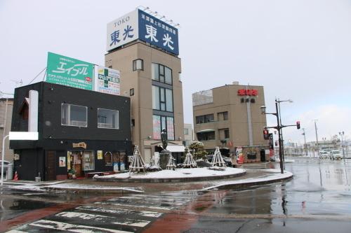 米沢駅の朝 2020.1.5_c0075701_08570389.jpg