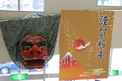 米沢駅の朝 2020.1.5_c0075701_08573786.jpg