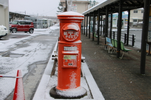 米沢駅の朝 2020.1.5_c0075701_08591961.jpg