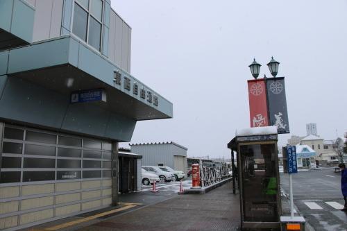 米沢駅の朝 2020.1.5_c0075701_08592952.jpg