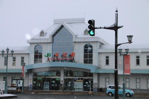 米沢駅の朝 2020.1.5_c0075701_09001021.jpg