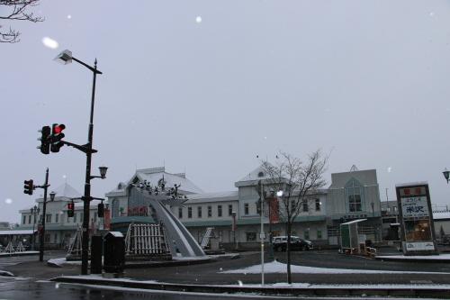 米沢駅の朝 2020.1.5_c0075701_09002730.jpg