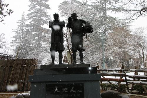 上杉神社&松岬神社で参拝_c0075701_11330091.jpg