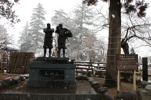 上杉神社&松岬神社で参拝_c0075701_11331368.jpg