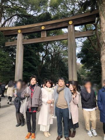 """2020年への想い """"初心を忘れずに、誠実に、笑顔で""""  1月4日(土)明治神宮へ初詣に行ってきました_a0157409_00104273.jpeg"""