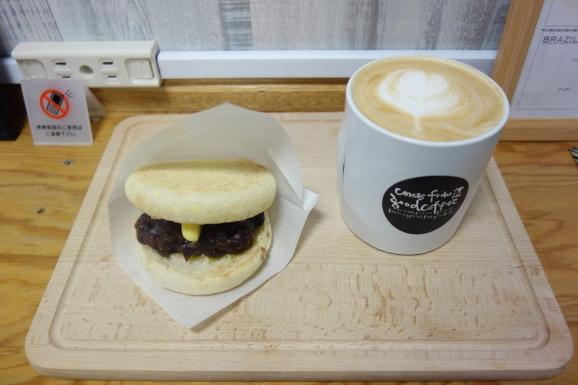 comes from good coffeeさんであんバターサンドと抹茶ラテ_e0230011_16175026.jpg