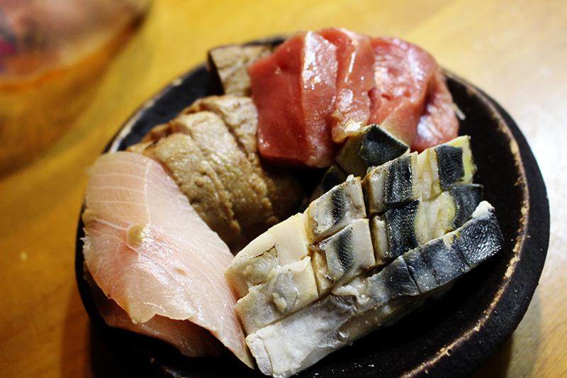 刺身三昧  鮮魚鯔背 札幌自転車屋。_a0139912_17031817.jpg