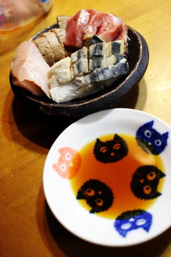 刺身三昧  鮮魚鯔背 札幌自転車屋。_a0139912_17031885.jpg