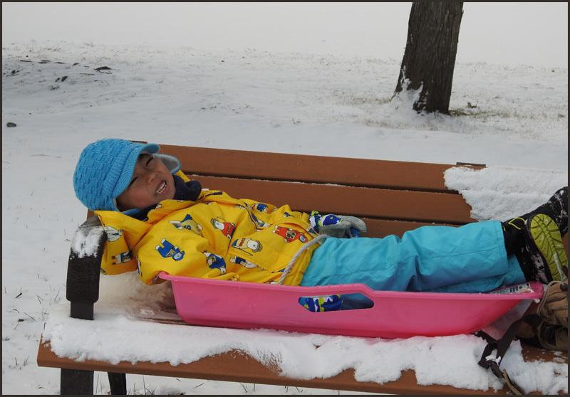 雪の少ない札幌:楽しめたかな?_b0019313_16410627.jpg