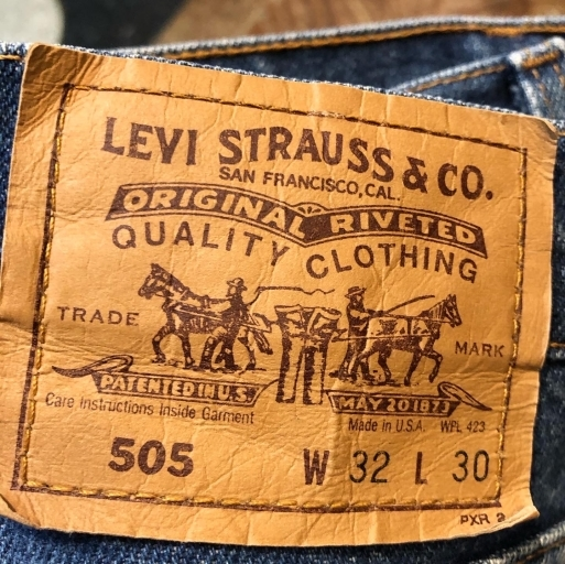 Made in USA Used Levi's505_c0144020_22292742.jpg