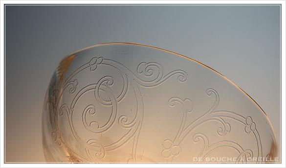 """サン・ルイ クリュニー Saint Louis \""""Cluny\"""" その2 オールド バカラ グラス フランス アンティーク_d0184921_16072420.jpg"""