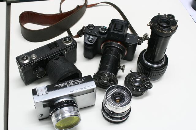 第22回 好きやねん大阪カメラ倶楽部 例会報告 今月のテーマ 手作りカメラ、修理教室、急遽提案ゲルツ、ツァイス祭り_d0138130_14461467.jpg