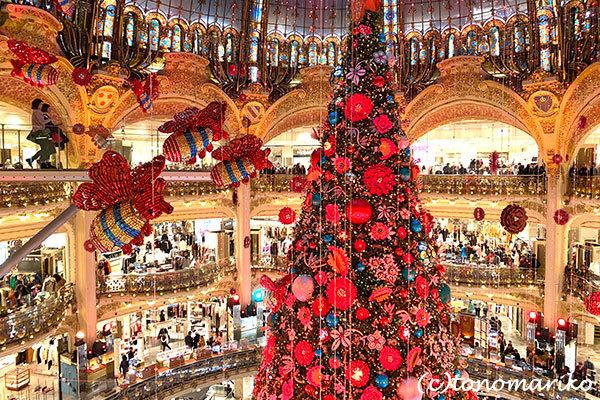 ギャラリーラファイエットのクリスマスツリー_c0024345_20360213.jpg