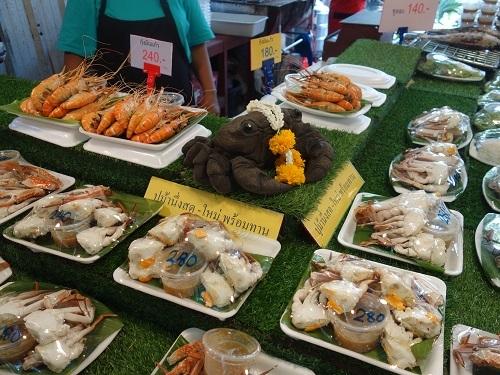 クローンラットマヨム水上マーケットで舟ソバ食べて満足のランチ_c0030645_21522476.jpg