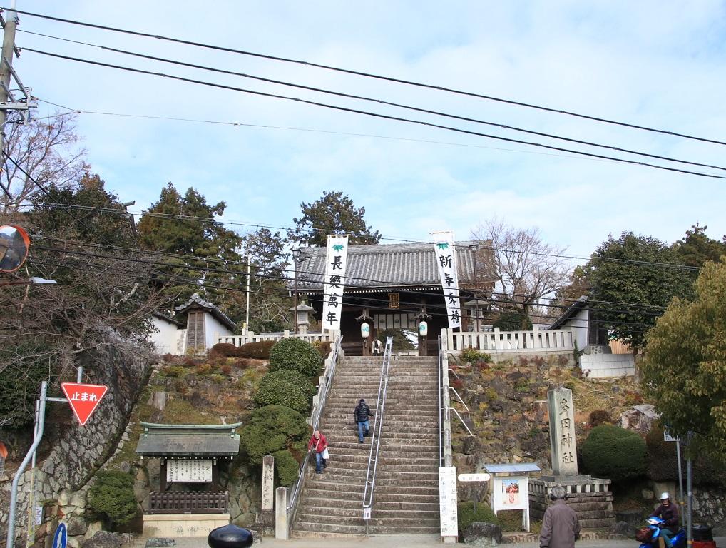 多田神社 初詣 能勢7200系 7201F_d0202264_4324158.jpg