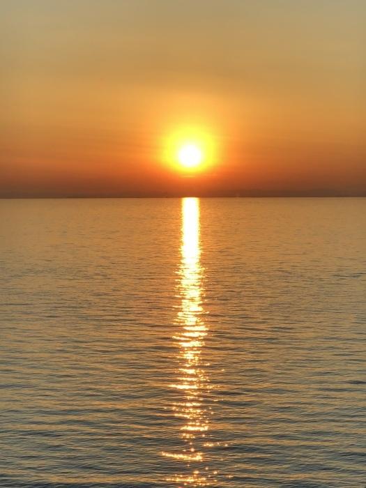 太陽と太陽が沈むトキ 富士山_d0105967_23485601.jpeg