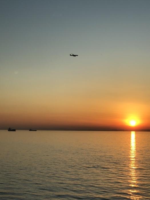 太陽と太陽が沈むトキ 富士山_d0105967_23500801.jpeg