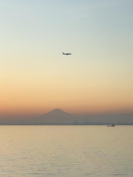 太陽と太陽が沈むトキ 富士山_d0105967_23512025.jpeg