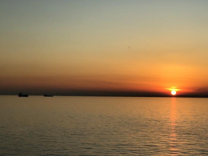 太陽と太陽が沈むトキ 富士山_d0105967_23521444.jpeg