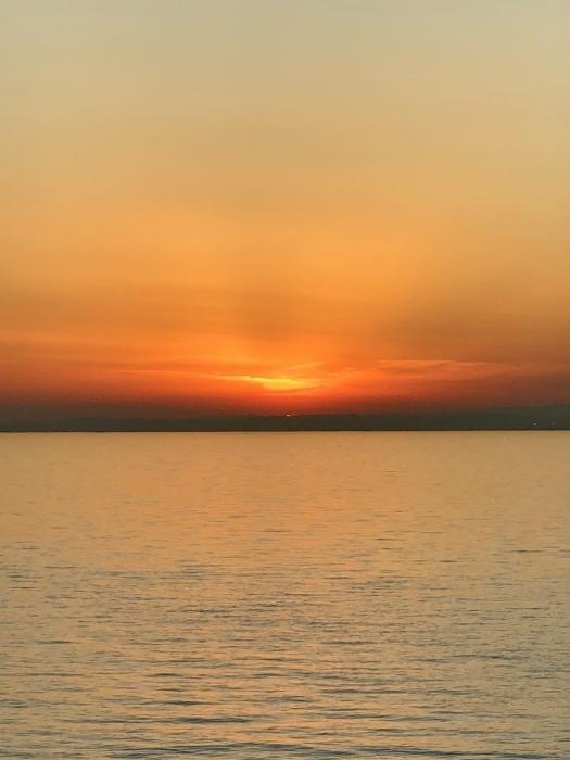 太陽と太陽が沈むトキ 富士山_d0105967_23543750.jpeg