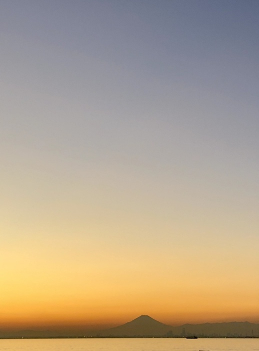 太陽と太陽が沈むトキ 富士山_d0105967_23552511.jpeg