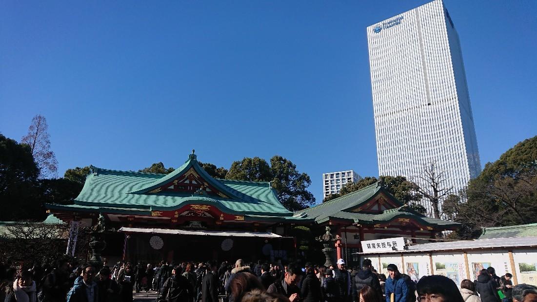 初詣  @赤坂山王 日枝神社_e0212073_20074340.jpg