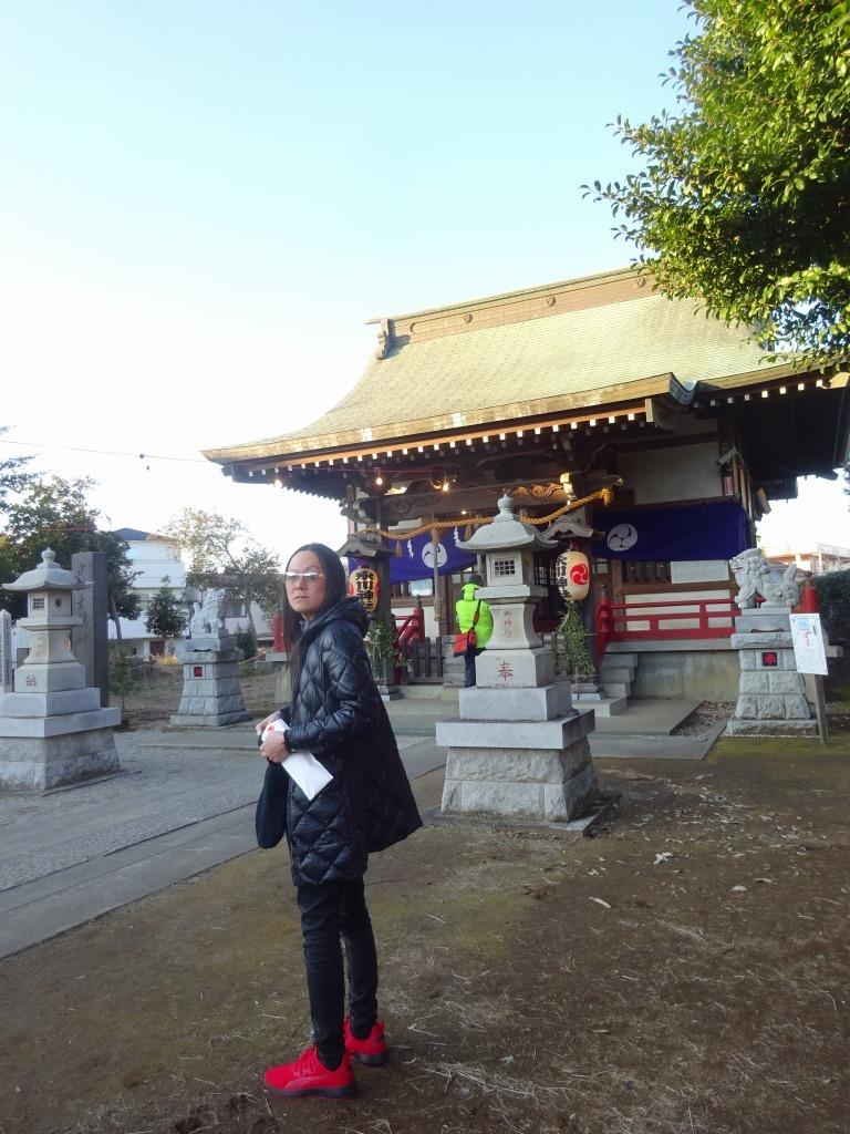 一月三日 青森から帰宅し近所の氷川神社へ大吉を引く&叔父宅でおせち_d0061678_14425822.jpg