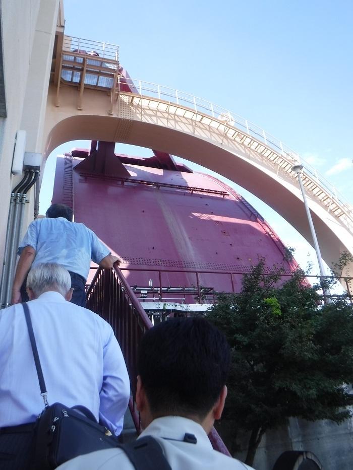 ◆安治川アーチ水門 ~水の都の唯一無二の水門♪~ _f0238779_15090655.jpg