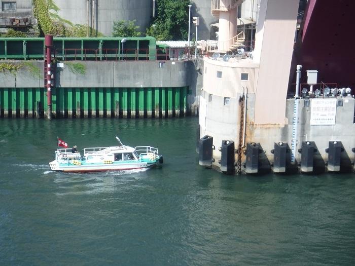 ◆安治川アーチ水門 ~水の都の唯一無二の水門♪~ _f0238779_15095298.jpg