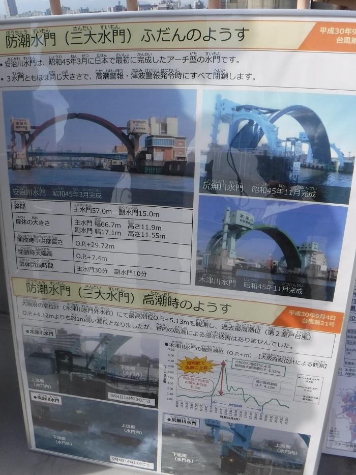 ◆安治川アーチ水門 ~水の都の唯一無二の水門♪~ _f0238779_15121243.jpg