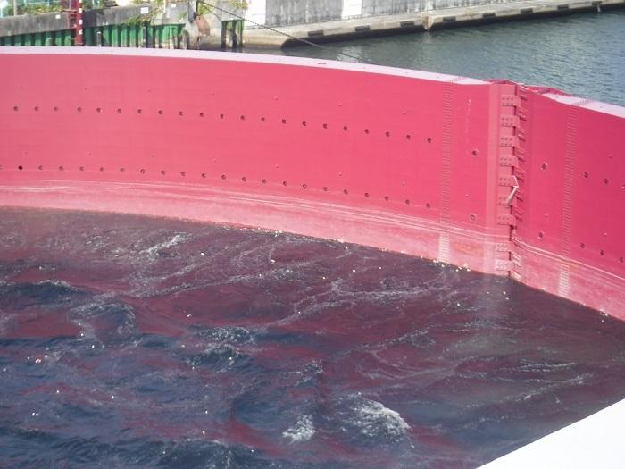 ◆安治川アーチ水門 ~水の都の唯一無二の水門♪~ _f0238779_15130223.jpg
