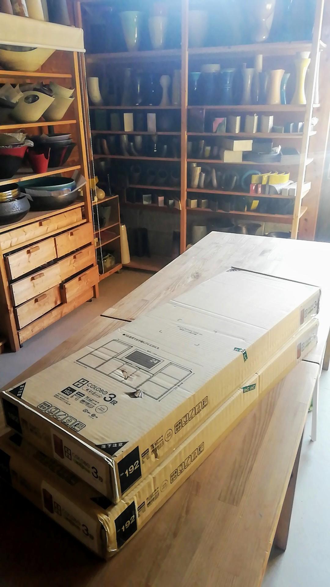 収納ボックス組み立てして佐世保へ_d0195183_01032223.jpg