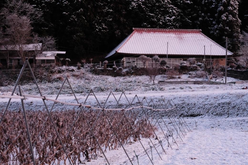 実家付近(旧美和村)でも雪でした!! 2020・01・05_e0143883_16323059.jpg