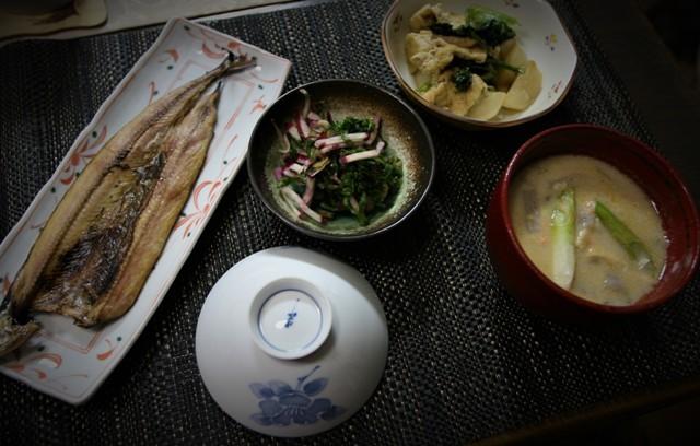 「今夜の夕飯」・・・お正月5日分_f0229190_19220147.jpg