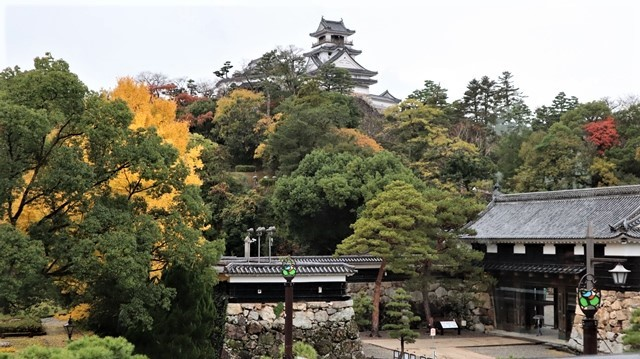 高知城前に素敵な喫茶店、高知県立歴史資料館内ある素敵な喫茶店イストワール、喫茶店イストワール_d0181492_23332413.jpg